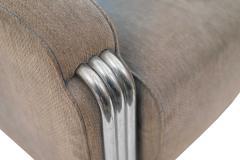 American Art Deco Gray Sofa - 1378913