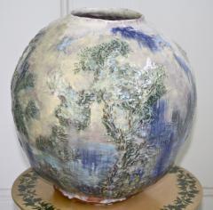 American Arts Crafts Pottery Vase - 1860324