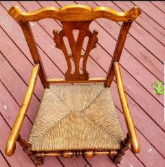 American Chippendale Great Chair circa 1760 - 2125543