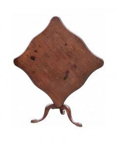 American Chippendale Mahogany Tilt Top Antique Tea Table Circa 1780 - 1146903
