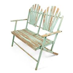 American Country Outdoor Folding Bench - 1404365