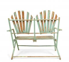 American Country Outdoor Folding Bench - 1404370
