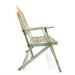 American Country Outdoor Folding Bench - 1404378
