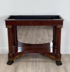 American Empire Mahogany Console Table Circa 1830 - 1400876