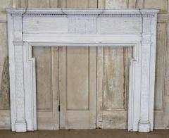 American Federal Chip Carved Mantel - 1984540