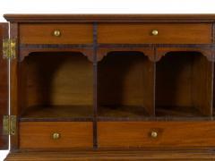 American Federal Inlaid Mahogany Antique Secretary Writing Desk ca 1790 1810 - 1091388