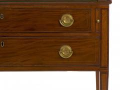 American Federal Inlaid Mahogany Antique Secretary Writing Desk ca 1790 1810 - 1091389