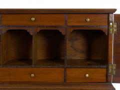 American Federal Inlaid Mahogany Antique Secretary Writing Desk ca 1790 1810 - 1091390