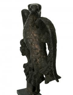 American Federal Period Cast Iron Eagle Philadelphia Ca 1813 - 126587