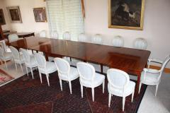American Federal Revival Banquet Table - 1464079