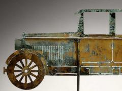 American Folk Art Automobile Weathervane - 362425