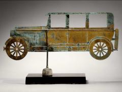 American Folk Art Automobile Weathervane - 362426