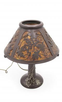 American Mission Heintz Art Metal Table Lamp - 1380076