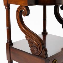 American Neo Classic mahogany wash stand - 1718816