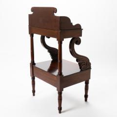 American Neo Classic mahogany wash stand - 1718817