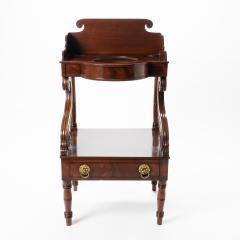 American Neo Classic mahogany wash stand - 1718819