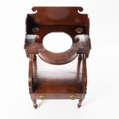 American Neo Classic mahogany wash stand - 1718820
