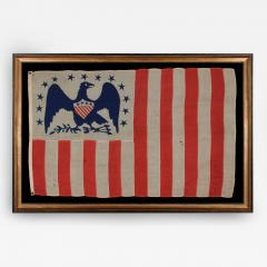 American Revenue Cutter Service Ensign Belonging to Captain William Henry Bagley - 62871