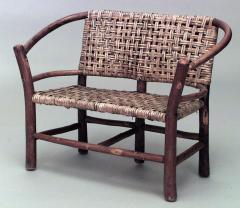 American Rustic Old Hickory 3 Piece Salesmans Sample Childs Salon Set - 549514