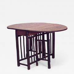 American Rustic Old Hickory Gate Leg Drop Leaf Dining Table   638465