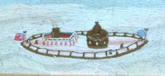 American Sailors Woolwork Depicting Ten Naval Vessels - 1728016