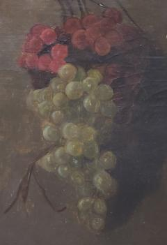 American School American School Still Life of a Cluster of Red and Green Grapes - 1214803