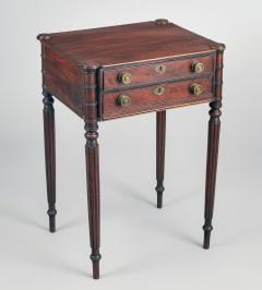 American Sheraton Salem Massachusetts Work and Side Table - 1003100