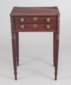 American Sheraton Salem Massachusetts Work and Side Table - 1003101