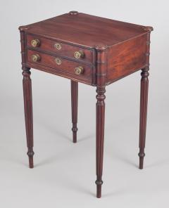 American Sheraton Salem Massachusetts Work and Side Table - 1003102