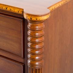 American Sheraton mahogany four drawer chest - 1922282