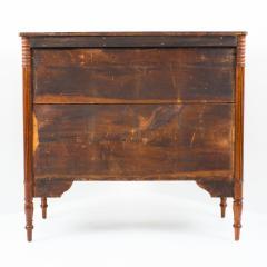American Sheraton mahogany four drawer chest - 1922285