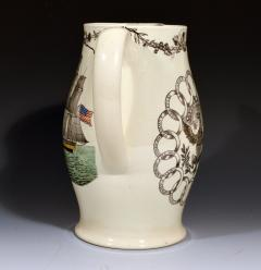 American Ship Jug with Fifteen State Ring design with Eagle on reverse - 1635669