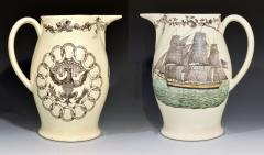 American Ship Jug with Fifteen State Ring design with Eagle on reverse - 1635672
