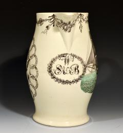 American Ship Jug with Fifteen State Ring design with Eagle on reverse - 1635673
