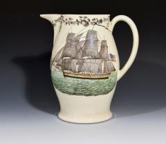 American Ship Jug with Fifteen State Ring design with Eagle on reverse - 1635674