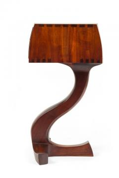 American Studio Crafts Movement Walnut Two Drawer Stand - 1223892