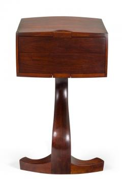 American Studio Crafts Movement Walnut Two Drawer Stand - 1223894