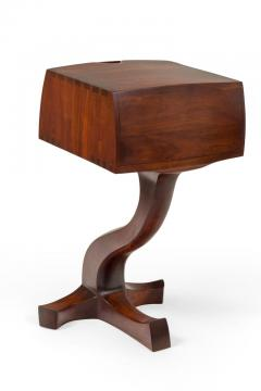 American Studio Crafts Movement Walnut Two Drawer Stand - 1223895