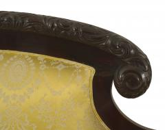 American Victorian Gold Upholstered Loveseat - 1419377