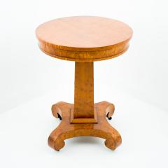 American curly maple side table - 1706592