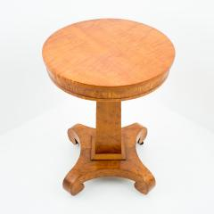American curly maple side table - 1706593