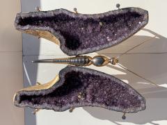 Amethyst Butterfly Coffee Table - 1193495