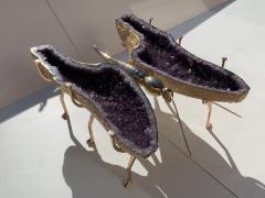 Amethyst Butterfly Coffee Table - 1193501