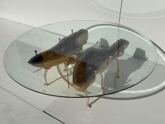 Amethyst Butterfly Coffee Table - 1193504