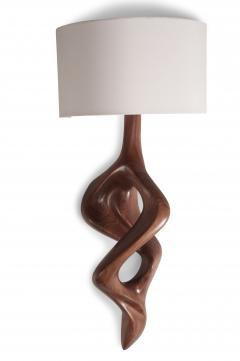 Amorph Nomi Sconces Natural Walnut with Ivory shade - 1038433