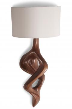 Amorph Nomi Sconces Natural Walnut with Ivory shade - 1038434