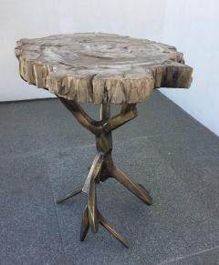 Amparo Calderon Tapia One of a Kind Bronzed Side Table by Amparo Calderon Tapia - 580745