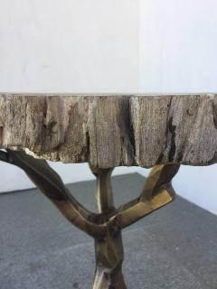Amparo Calderon Tapia One of a Kind Bronzed Side Table by Amparo Calderon Tapia - 580749