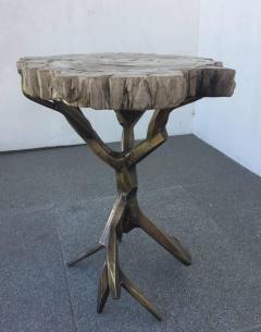 Amparo Calderon Tapia One of a Kind Bronzed Side Table by Amparo Calderon Tapia - 580750