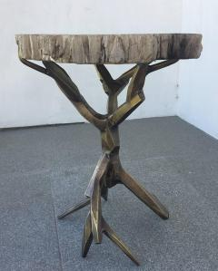 Amparo Calderon Tapia One of a Kind Bronzed Side Table by Amparo Calderon Tapia - 580751